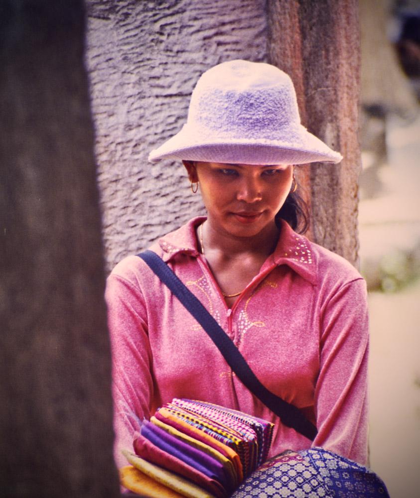 Fabric seller-Siem-Reap-smaller