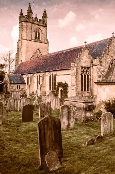 Church of St. Mary the Virgin Chiddingstone, UK