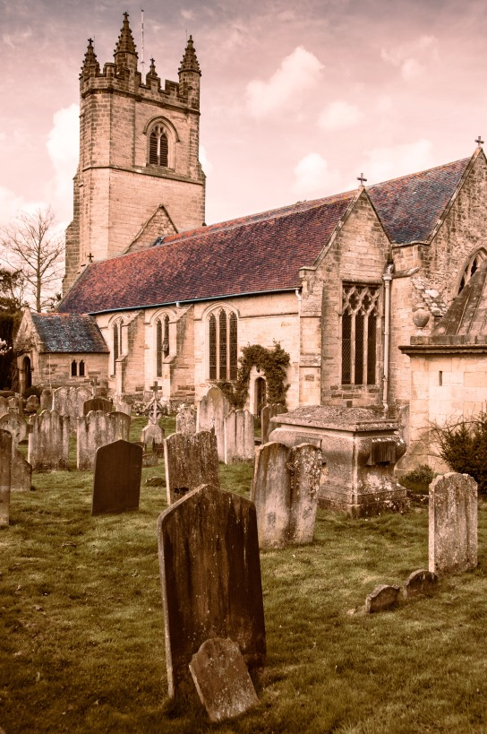 Church of St. Mary the Virgin Chiddingstone, UK