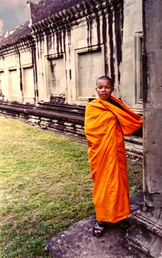 Young Monk at Ankor Wat