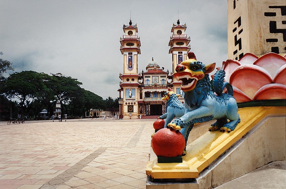 Cao Dai Temple- Tay Ninh, Vietnam
