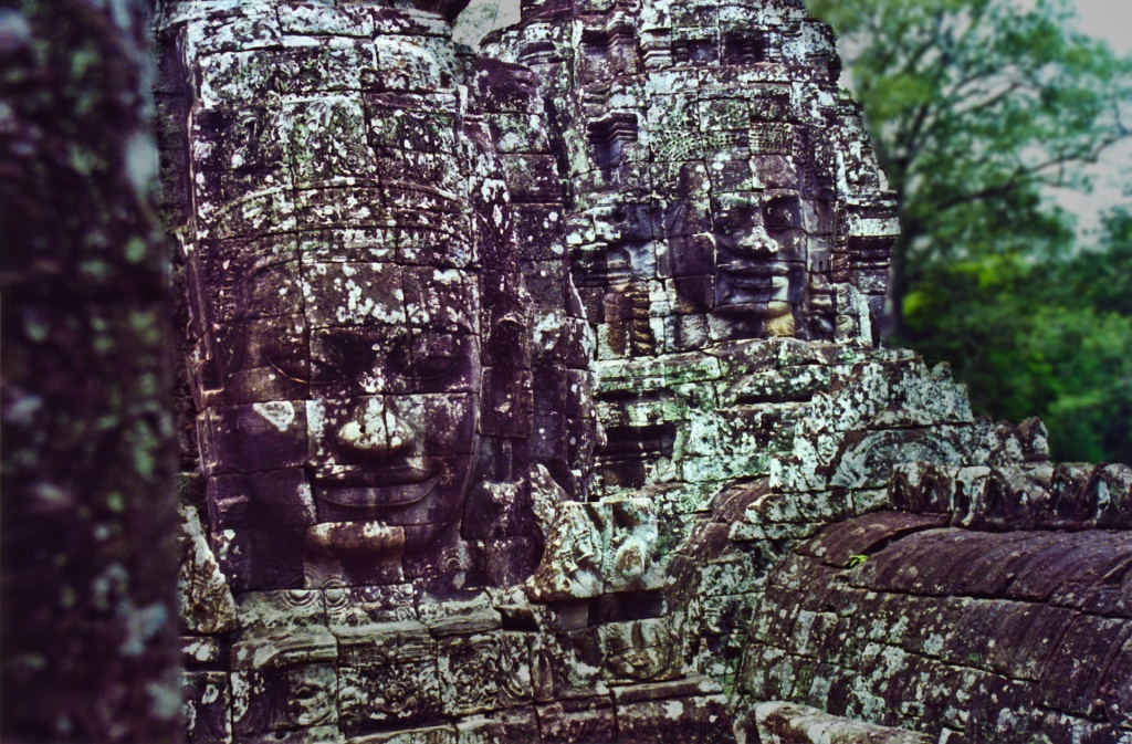 Two Faces, Angkor Wat, Cambodia