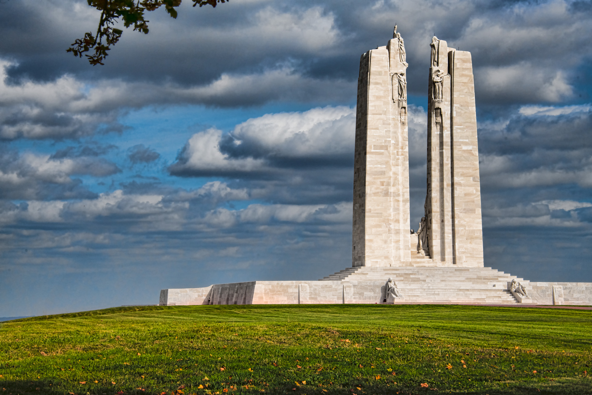 canadian memorial - vimy ridge, france