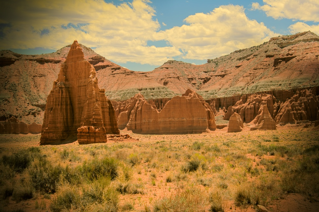 Cathedral Valley -Capitol Reef NP