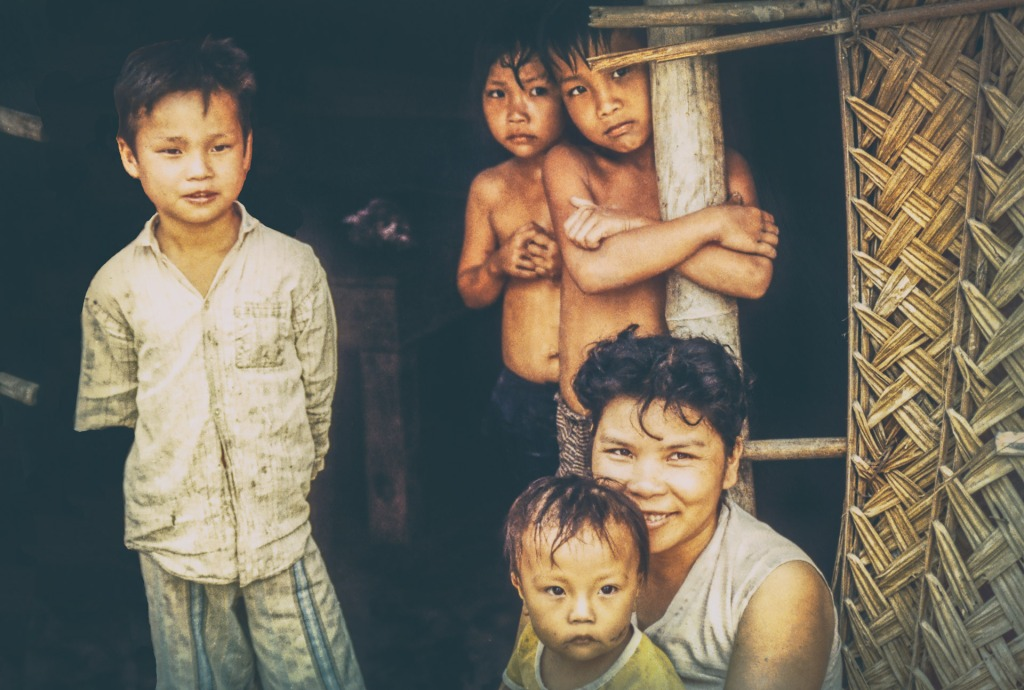 Villagers - Vietnam 1992